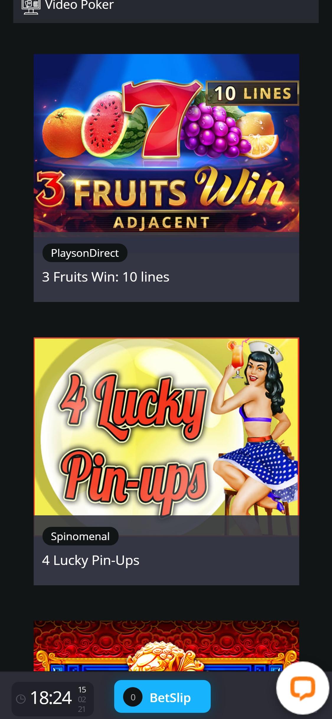 Virtual slot machine 496947