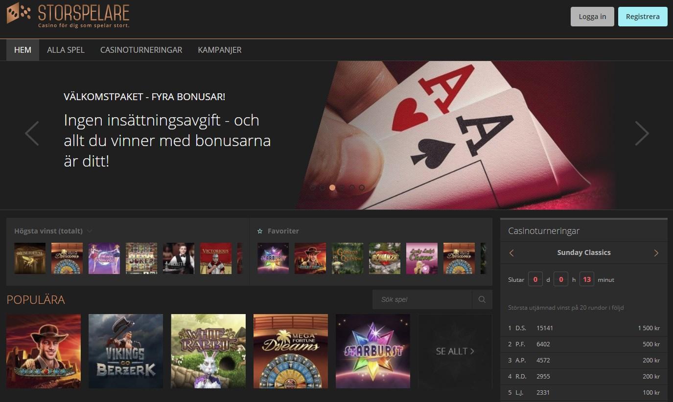 Välkomstpaket storspelare BuzzSlots casino 246641