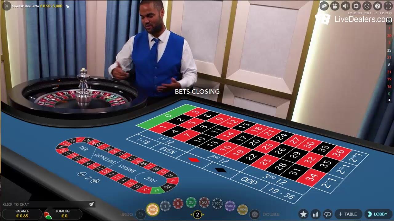 Roulette grön 413808
