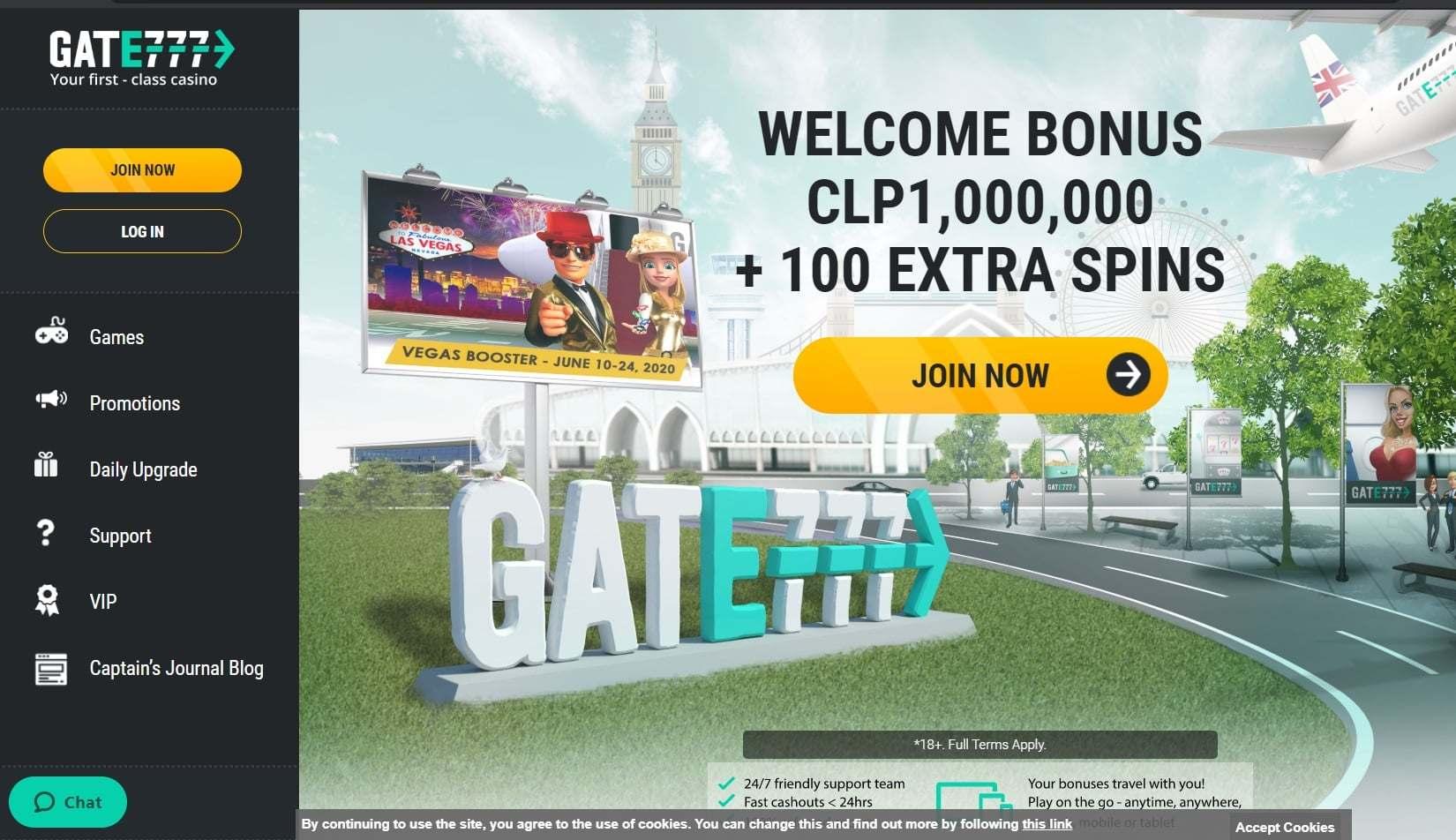 Uutta suunnittelua Gate777 casino 165059
