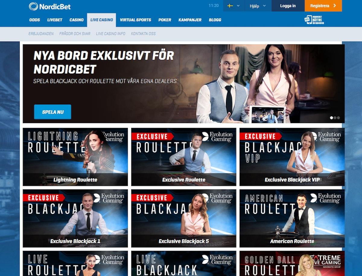 Nordicbet shl roulette 497444
