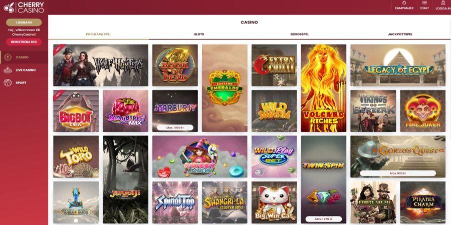Cherry casino recension 388366