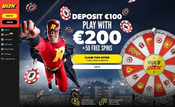 Rizk Free spins 525287