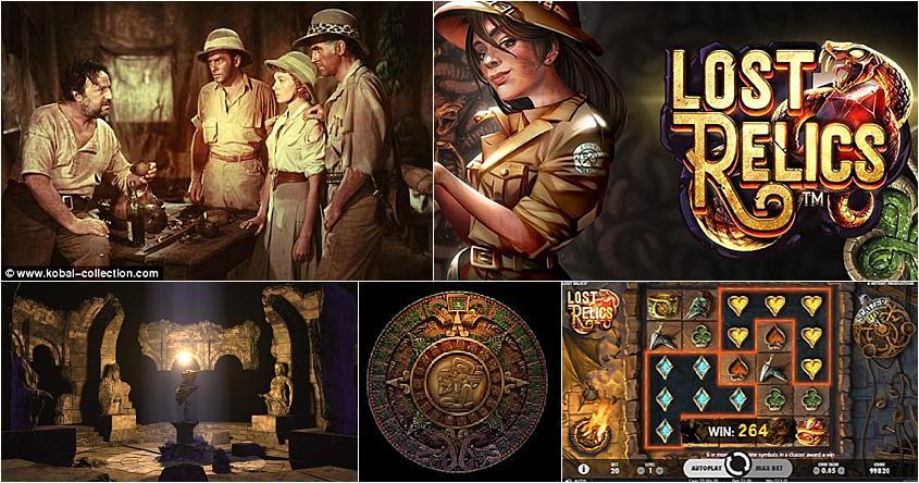 Video Lost Relics Slot 200935