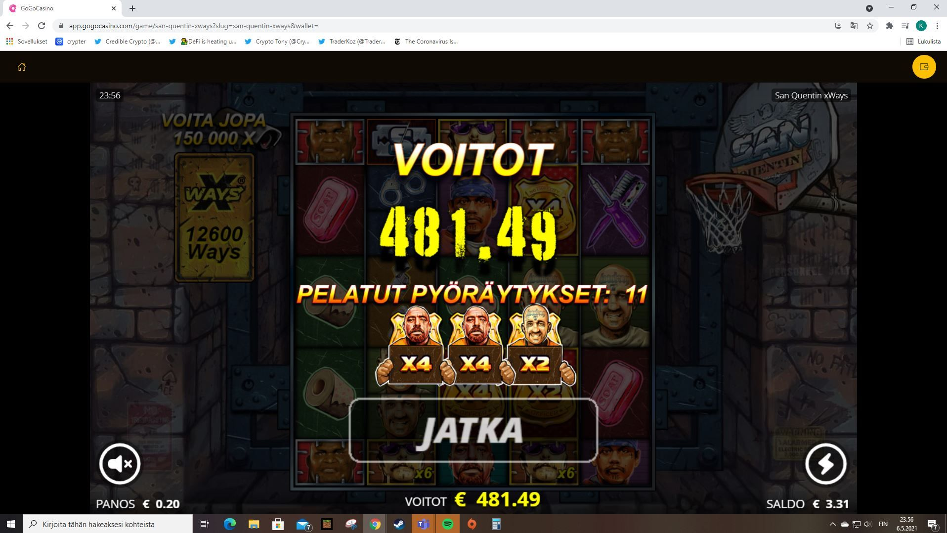 Förlorare blir vinnare 544993
