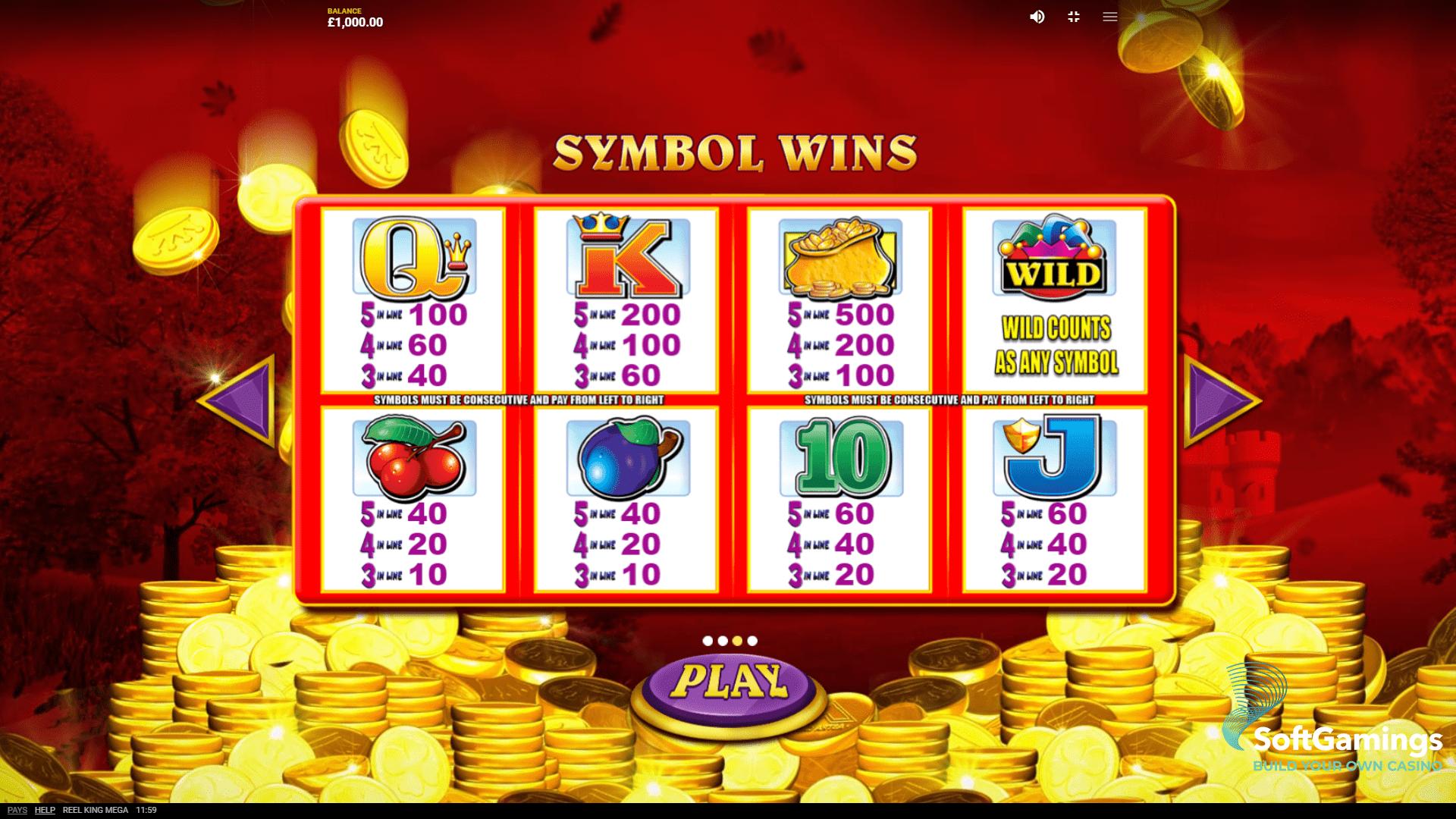 Casino 500 Red 174393