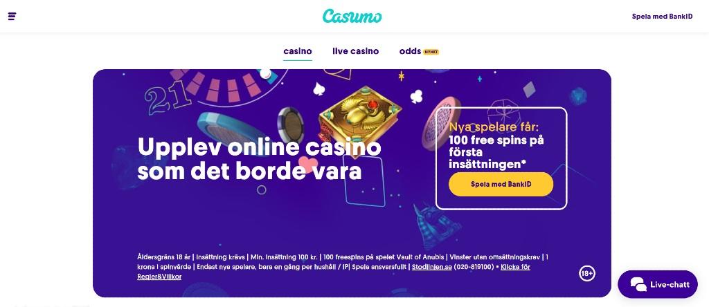 Casino free spins utan 384519
