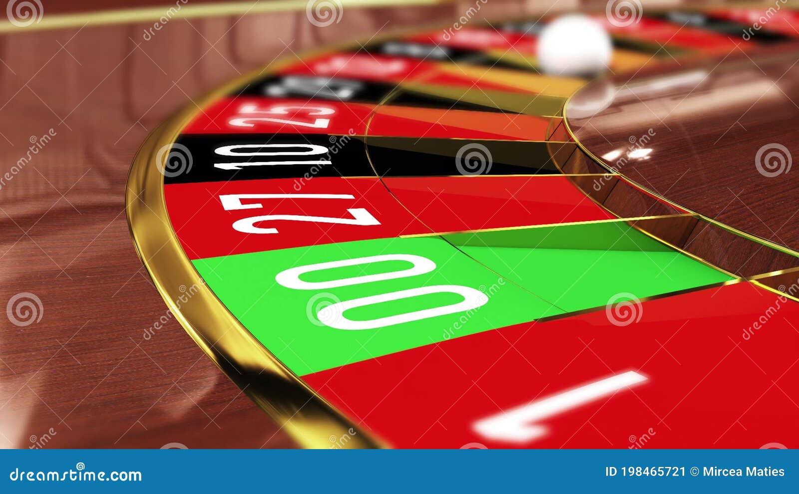 Lucky number vid roulettebordet 173572