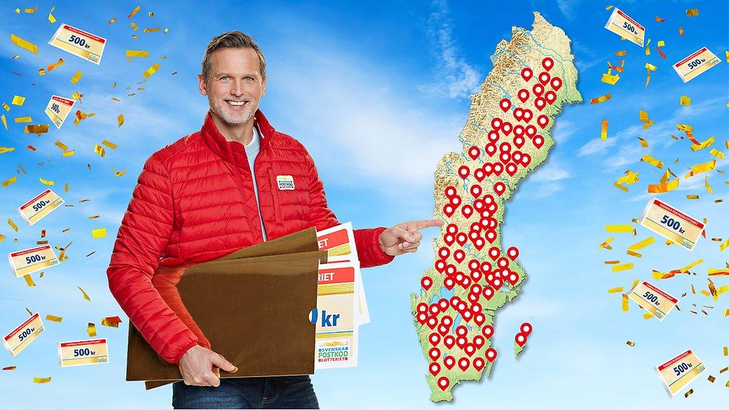 Postkodlotteriet vinstgaranti satsar 261487